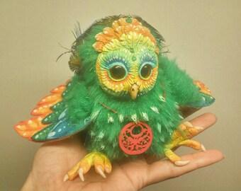 Shamanic owl