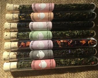 Tea Gift Set - Tea Sample Set - Looses Leaf Tea - Birthday Gift - Get well Gift