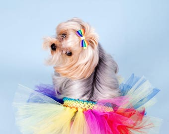 Puppy tutu, dog costume, pet tutu