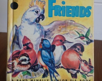 Feathered Friends vintage Rand McNally Junior elf book