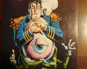 Captain Sternn:  Running Out Of Time    Very Good Condition Issue #1