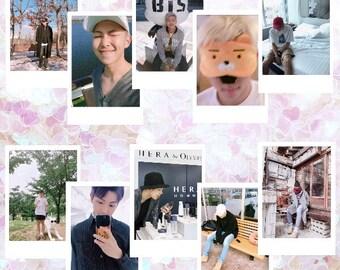 KIM NAMJOON | 방탄소년단 BTS Rap Monster Instax Boyfriend Theme Polaroid Photo Card Pack