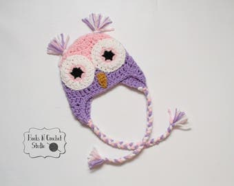 newborn girl owl hat, newborn owl hat, newborn crochet hat, newborn crochet beanie, newborn crochet owl hat, newborn photo prop