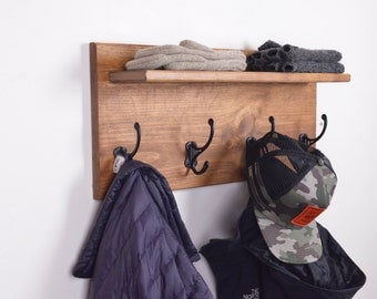 Coat Rack, wall organizer, coat hook, hat rack, hat hook, wall hooks, wall hook,