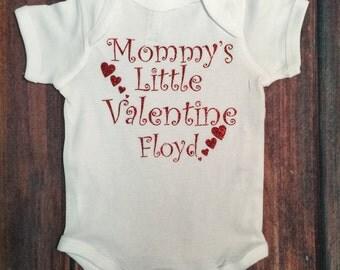 Valentines Onesie, Mommy's little Valentine