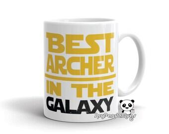 Archery Mug - Best Archer In The Galaxy