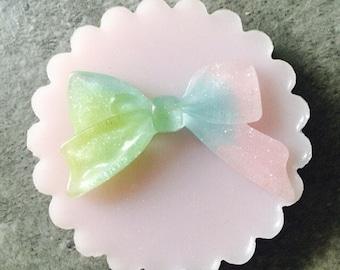 Super polished mould bow kawaii