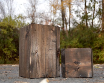 Handmade reclaimed wood box