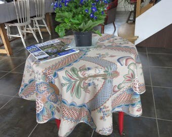 Jolie Tablecloth Round To The Motifs Art -