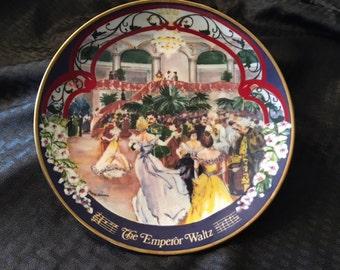 The Emperor Waltz Collector Plate