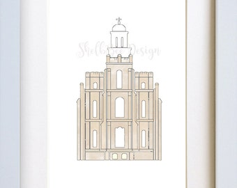 Logan LDS Temple - Digital Download