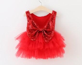 Sophia Glitter Dress