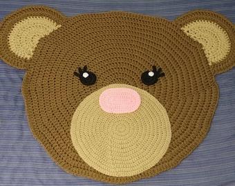 Perfect Crochet Bear Rug