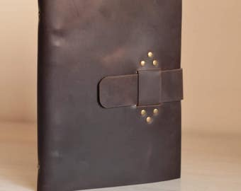 Refillable journal Refillable leather journalRefill Personalized Leather - Free personalization