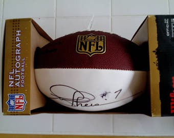NFL Autographed Football - Joe Theismann