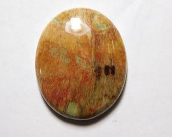 Petrified jasper Cabochons,Gemstone,Loose Stone,Gorgeous Handmade Petrified jasper Gemstone 100%Natural loose stone 39cts.(32X21)mm