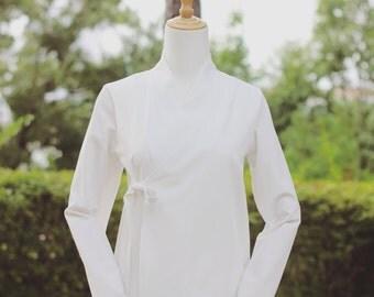 Pure White Modern Hanbok Jeogori