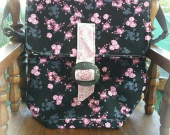 Mickey Mouse Floral Backpack any fabric