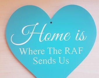 RAF Plaque, Home Plaque
