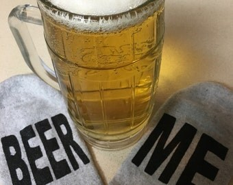 Beer Me Socks/Free Shipping