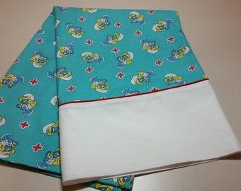 Smurfette Nurse Pillowcase/ Standard Pillowcase