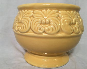 Buttery Yellow Planter