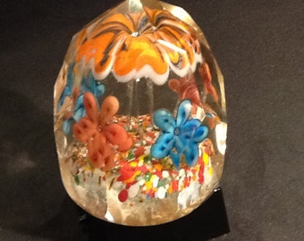 Antique Paperweight Bohemian