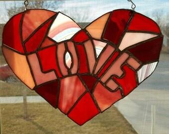 Love Window Hang