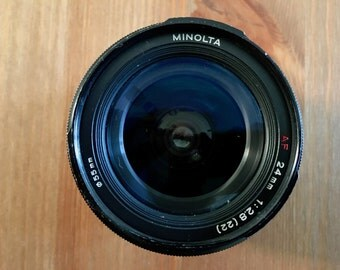 Minolta 24mm f2.8 AF Autofocus Prime Lens for Sony A Mount