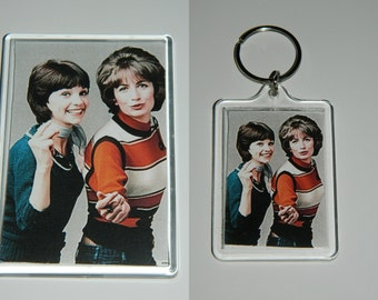 Laverne and Shirley Keychain or Magnet or set