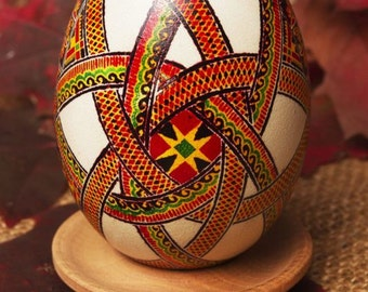 Easter egg painted by hand