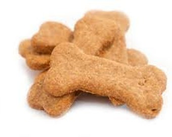 Pumpkin and Peanut Butter Buscuit Dog Treats