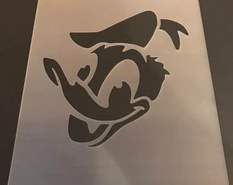 Donald Duck #1 Stencil 10mil Free Shipping!