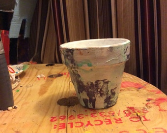 Marbled pot