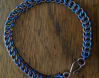Niobium Half Persian 3 in 1 Bracelet