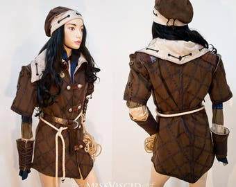 Unique Larp Monster Hunter Witcher Costume Andventurer's Clothing Witchhunter