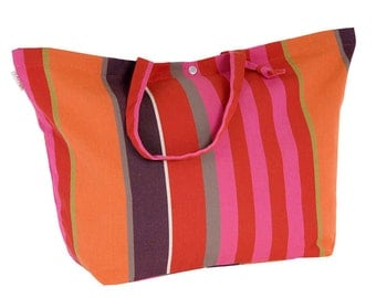 "ARTIGA adjustable bag 100% cotton - 23.5""x15.5"". Color: Ogeu"
