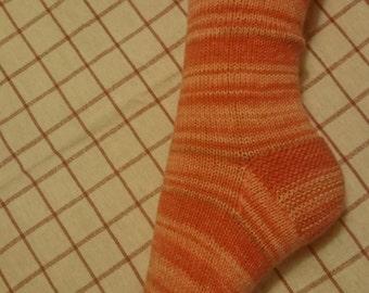 Knitting socks size 38/40, handmade.