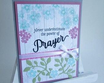 Prayer Friendship Greeting Card
