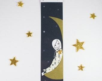 Bookmark Moon & Stars