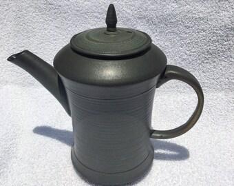 Black matte coffee pot