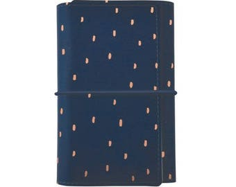 Kaisercraft Small Navy with Rose Gold Foil Accent Planner