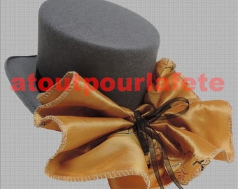 Hat Topper Sissi, rider, Amazon, Belle Epoque, disguise (felt)