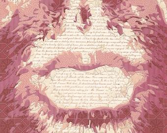 Paper Portrait Collage-VD