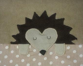 African hedgehog snuggle sack - BEIGE