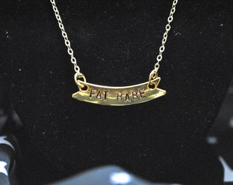 Fat Babe Necklace - Gold