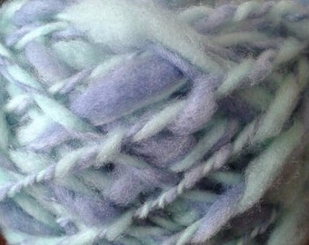 Slubby wool art yarn - Two ply