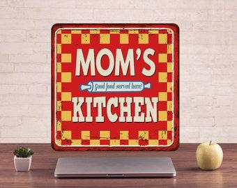 Mom's kitchen Signs, Mom's kitchen Decor, Mom's kitchen Art, Mom's kitchen Prints, Mom's kitchen Metal Sign, Mom's kitchen sign