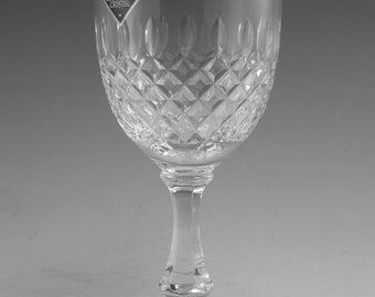 "EDINBURGH Crystal - MRUK7 Cut - Wine Glass / Glasses - 5"""