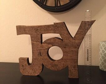"Wood ""JOY"""